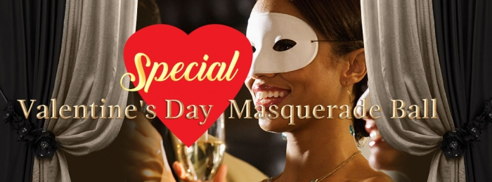 Special Valentine's Day Masquerade Ball -  Tuesday, 14 February 2017