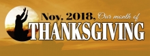 Month of Thanksgiving